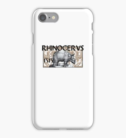 RHINOCERVS 1515 iPhone Case/Skin