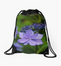 Hydrangea Flowers Drawstring Bag