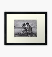 Castle and Beckett - Honeymoon Framed Print