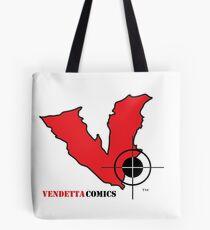 Vendetta Comics Reverse Logo Tote Bag