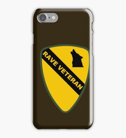 Rave Veteran - Large iPhone Case/Skin