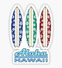 ALOHA Hawaii Surfboards Sticker