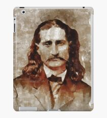 Wild Bill Hickok iPad Case/Skin