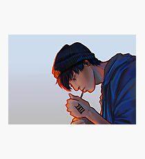 Jungkook Cigarette Photographic Print