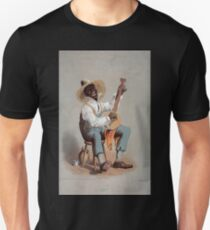Performing Arts Posters Plantation banjo player 0238 Unisex T-Shirt