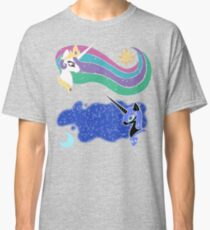Princess Celestia and Nightmare Moon Classic T-Shirt