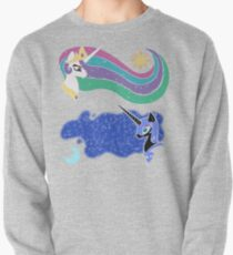 Princess Celestia and Nightmare Moon Pullover Sweatshirt