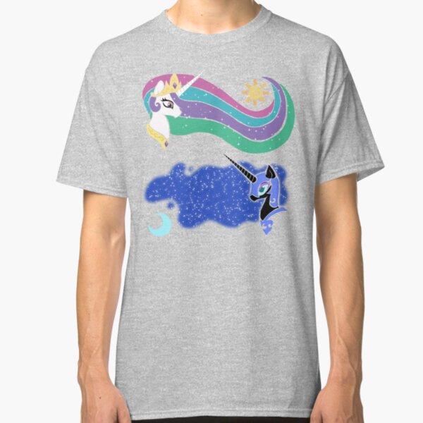 Princess Celestia and Nightmare Moon Classic T-Shirt