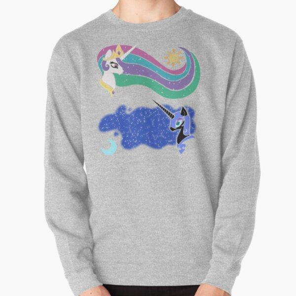 Princess Celestia and Nightmare Moon Pullover Sweatshirt