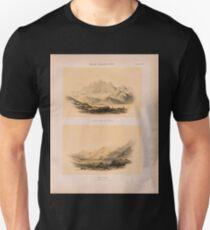 0702 Sinai Halbinsel Der Serbâl von Osten Wadi Firân am Fusse des Serbâl Unisex T-Shirt