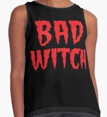 BAD WITCH with matching good witch Contrast Tank