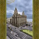 Royal Liver Building - Liverpool - Hand Tinted by Fotopia