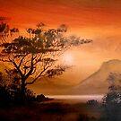 African Sunset by Cherie Roe Dirksen