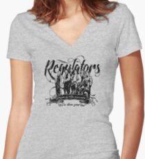 Regulators - Young Guns Women's Fitted V-Neck T-Shirt