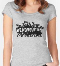READVOLUTION Women's Fitted Scoop T-Shirt