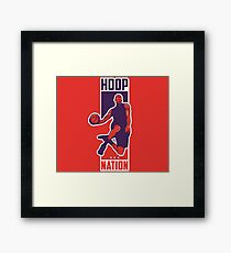 Hoop Nation Framed Print