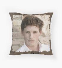 Eddie Redmayne Throw Pillow