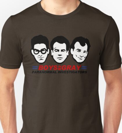 Boys in Gray T-Shirt