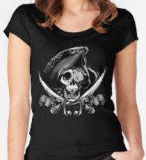 Never Say Die - One Eyed Willie Women's Fitted Scoop T-Shirt