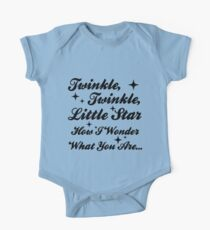 Twinkle, Twinkle, Little Star Kids Clothes