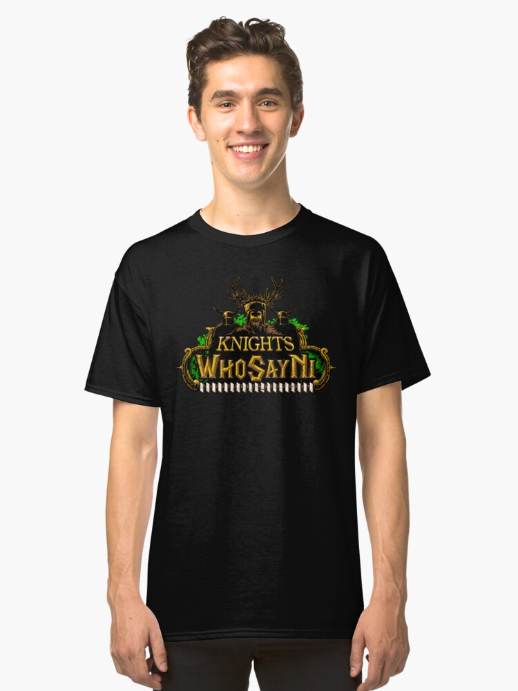 World of Ni-Craft Classic T-Shirt Front