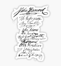 Founders' Signatures Sticker
