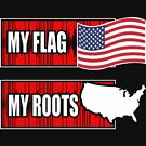 United States Of America My Flag My Roots by JamesNelsonz