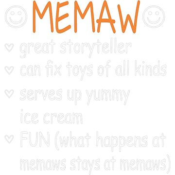Memaw Great Storyteller Fix Toys Serves Ice Cream by JamesNelsonz