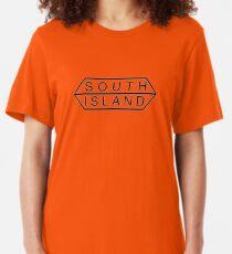 south island logo Slim Fit T-Shirt