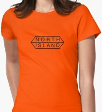north island logo Women's Fitted T-Shirt
