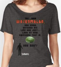 Seananners - Watermelon Women's Relaxed Fit T-Shirt