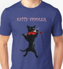 Kitty Fiddler T-Shirt