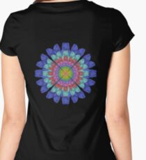 Foot Flower Women's Fitted Scoop T-Shirt