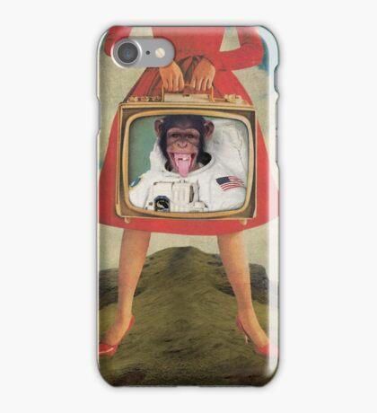 Animal Collection -- Monkey See Monkey Do iPhone Case/Skin