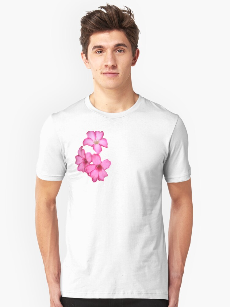 Tecoma in the Pink Unisex T-Shirt Front
