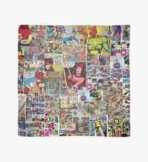Comic Collage Scarf