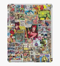 Comic Collage iPad Case/Skin