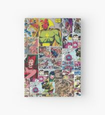 Comic Collage Hardcover Journal