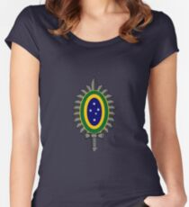 Brazilian Army (Aviation) - Roundel Women's Fitted Scoop T-Shirt