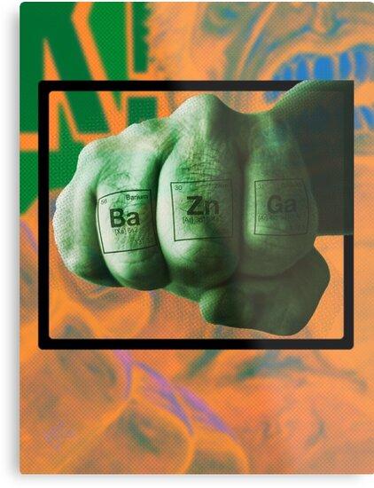 Ba Zn Ga! - hard science by dennis william gaylor