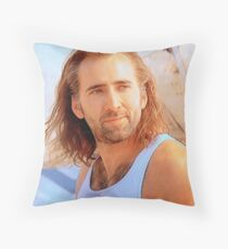 Nick Cage Throw Pillow