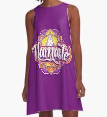 NAMASTE A-Line Dress