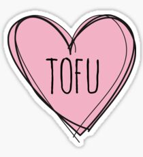 TOFU Sticker
