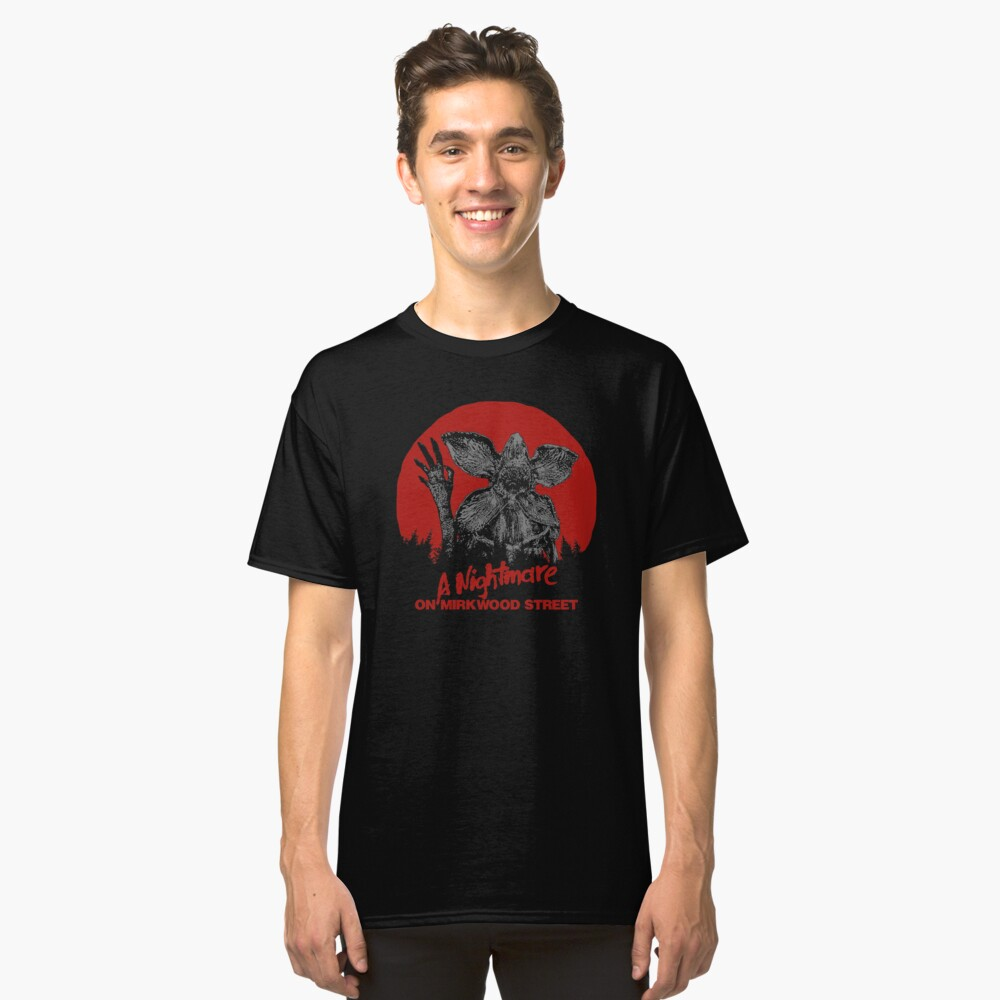 A Nightmare On Mirkwood Street Classic T-Shirt Front