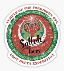 Sallah's Temple Tours Sticker