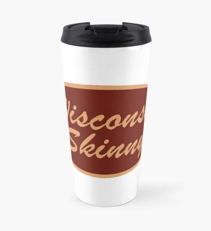 The Original Wisconsin Skinny Logo Travel Mug