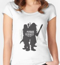 At Your Service Women's Fitted Scoop T-Shirt
