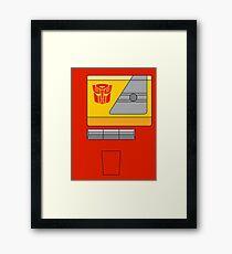 Blaster - Transformers 80s Framed Print