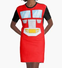 Optimus Prime - Transformers 80s Graphic T-Shirt Dress