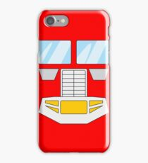 Optimus Prime - Transformers 80s iPhone Case/Skin